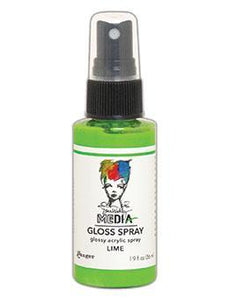 Dina Wakely Media Glossy Spray  - Lime