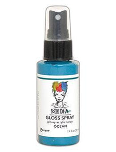 Dina Wakely MEdia Glossy Spray  - Ocean