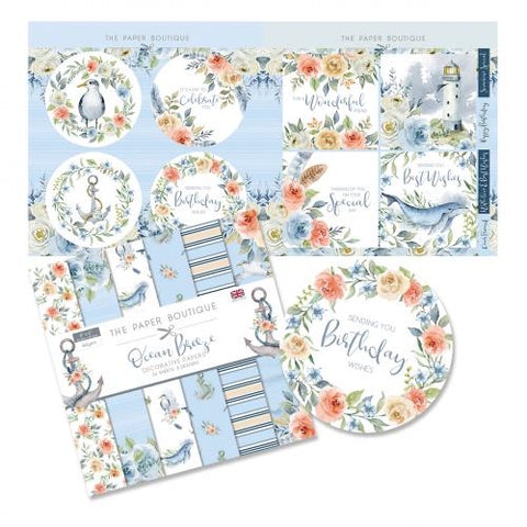 THE PAPER BOUTIQUE -Ocean Breeze Paper kit