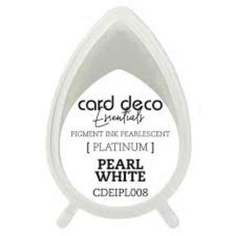 CARD DECO Essentials  - Pigment Ink Platinum Platinum Pearl White