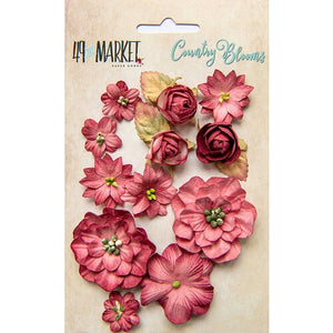 49&Market Country Blooms - SCARLET