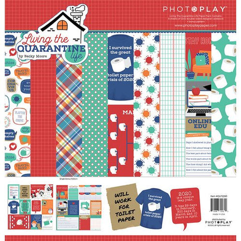 PHOTOPLAY- Living The Quarantine Life Paper Pack
