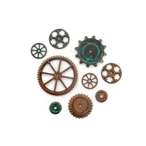 PRIMA Finnabair Mechanicals - Machine Parts 9pc