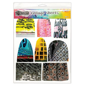 DYLUSIONS by Dyan Reaveley Collage Sheets Set 2