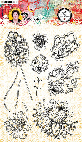 Art by Marlene - Stamp - Arabesque  Artsy Arabia