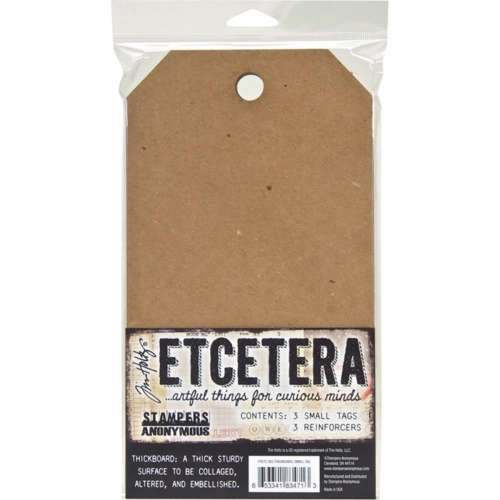 TIM HOLTZ Etcetera Thick Board Tags Small 3pc