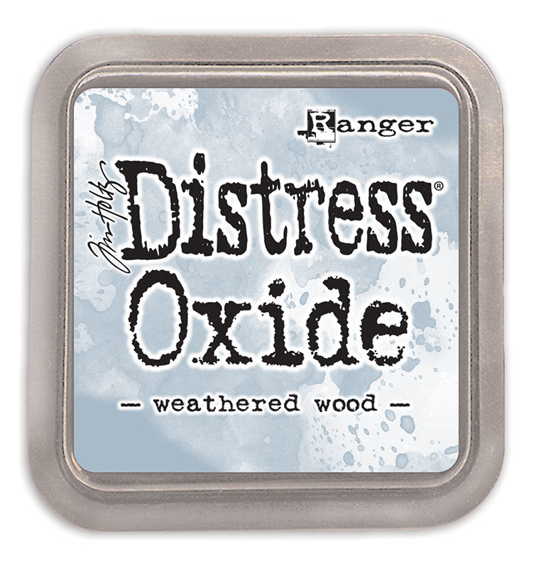 Distress Oxide Ink Pad - Weathered Wood
