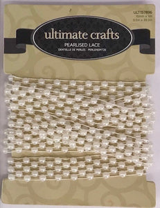 Pearlised Lace  ULTIMATE CRAFTS