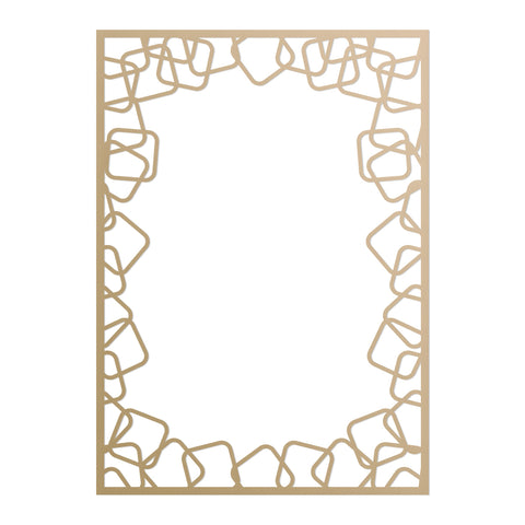 COUTURE CREATIONS -Ultimate Crafts Rounded Squares Frame Dies