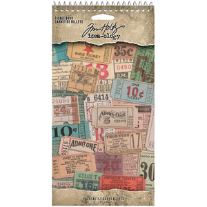 Tim Holtz Idea-ology Ticket Book