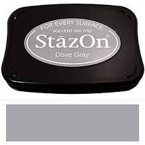 STazON - Fast Drying Solvent Ink Dove Gray