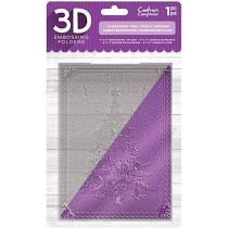 3D Embossing Folder CRAFTERS COMPANION  - Evergreen Tree
