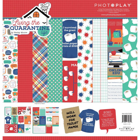 PHOTOPLAY -  Paper Pack - Living The Quarantine Life
