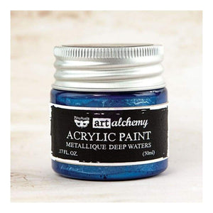 FINNABAIR Metallique Acrylic Paint - Deep Waters