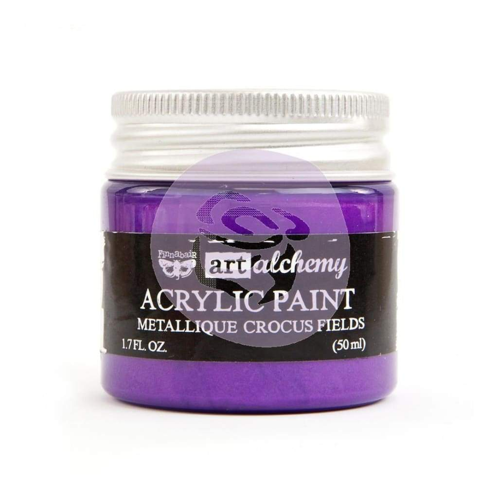 FINNABAIR Metallique Acrylic Paint - Crocus Fields