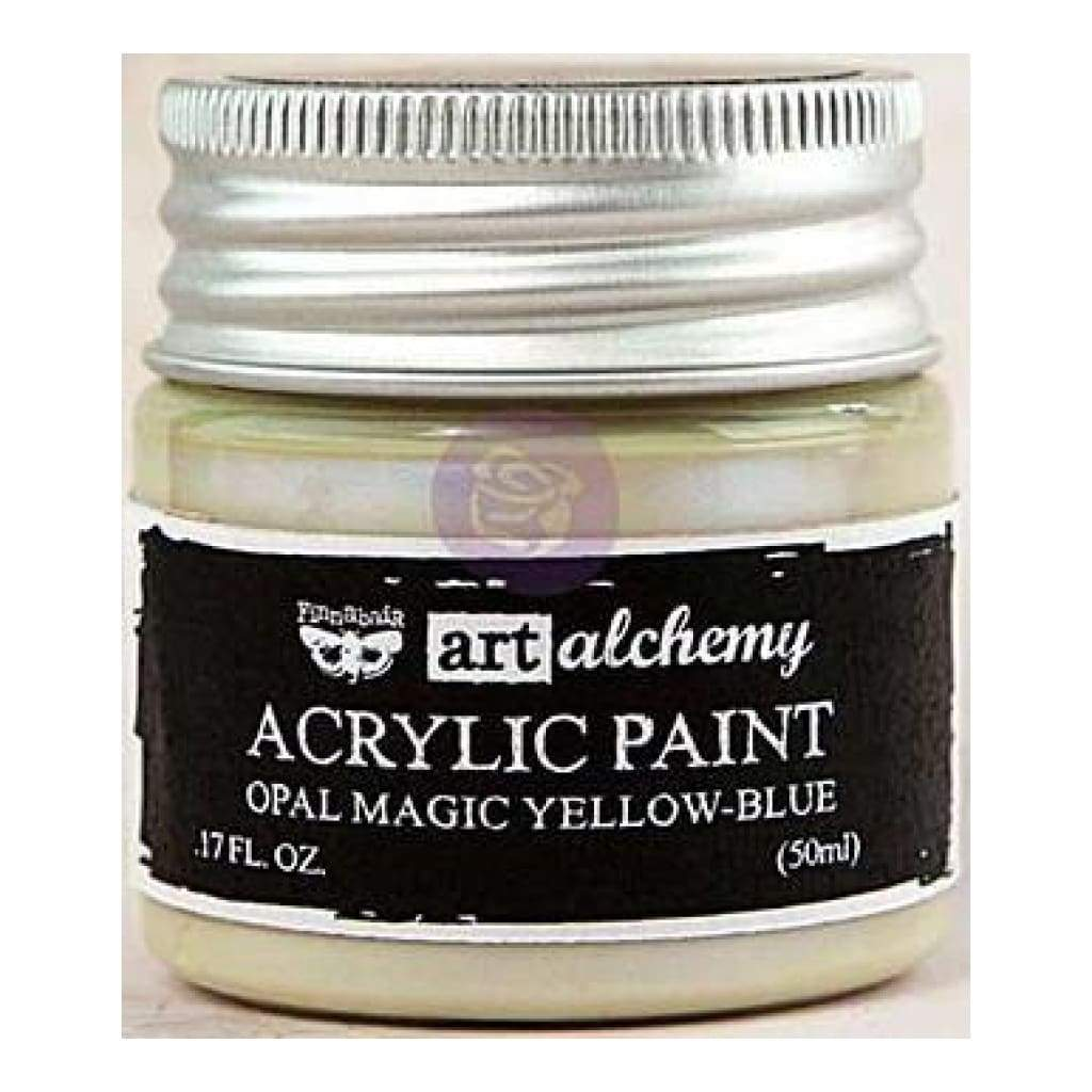 FINNABAIR Opal Magic Acrylic Paint - Yellow Blue