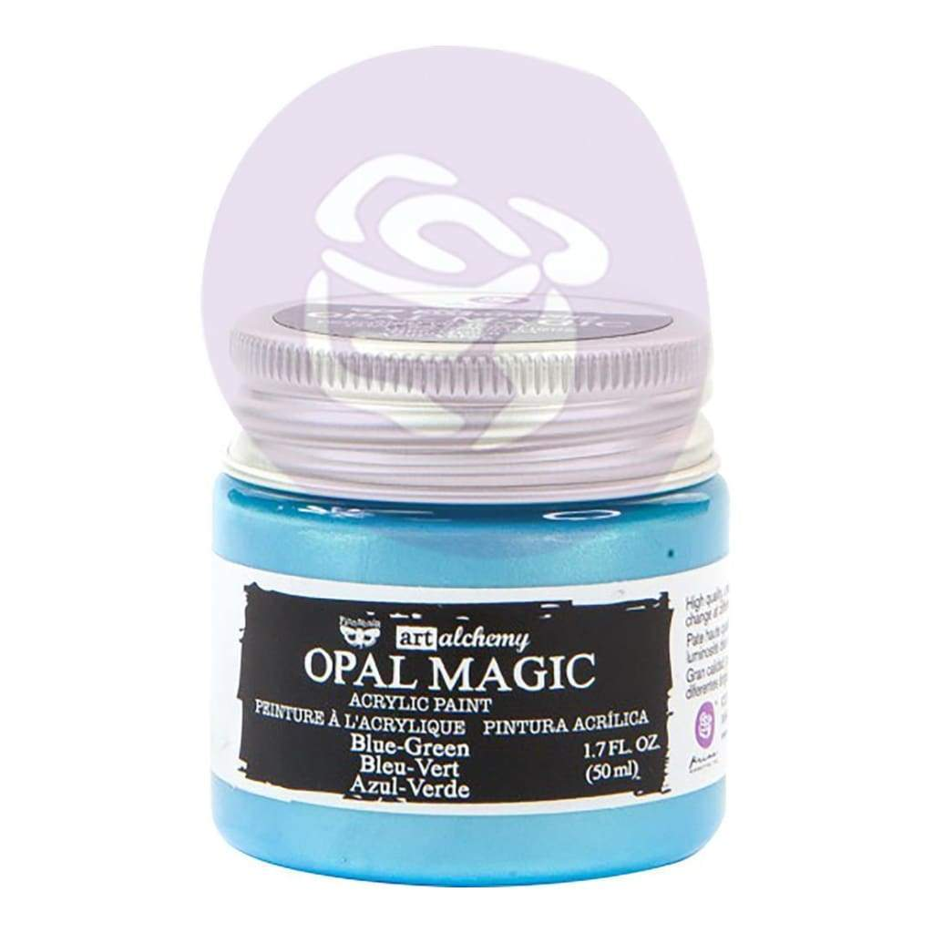 FINNABAIR Opal Magic Acrylic Paint -  Blue Green