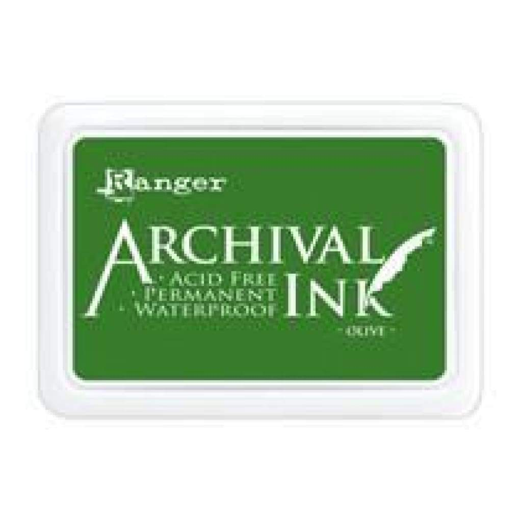 RANGER  Archival Ink - Olive