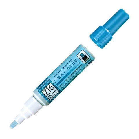 EK TOOLS Zig 2Way Glue Pen - Chisel Tip