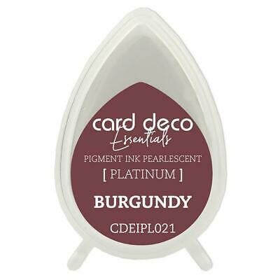 CARD DECO Essentials  - Pigment Ink Platinum Burgundy