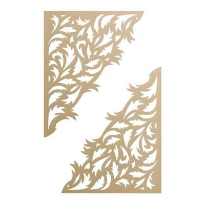 COUTURE CREATIONS Ultimate Crafts Dies - Gold Leaf Corner
