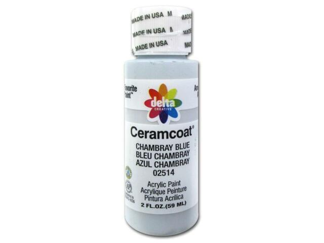 CERAMCOAT Acrylic Paint 59ml 2floz  - Chambray Blue