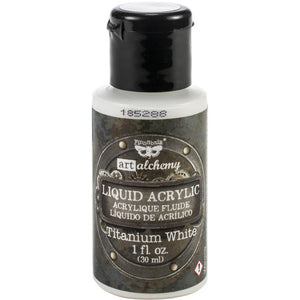 FINNABAIR Art Alchemy Liquid Acrylic Paint - Titanium White