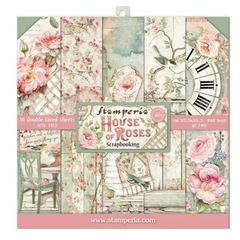 12 x 12 Paperpack STAMPERIA -House of Roses