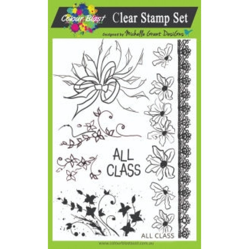COLOUR BLAST Rubber Stamps
