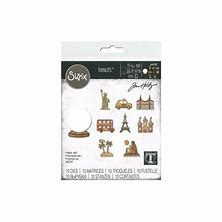 Tim Holtz  Tiny Travel Globe Die
