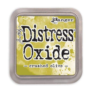 Distress Oxide Ink Pad - Crushed Olive