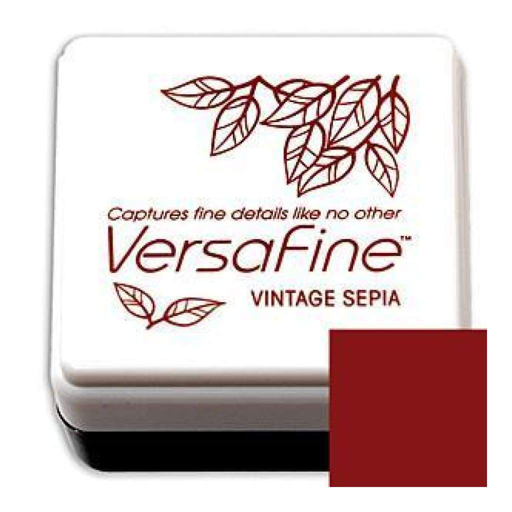 VERSAFINE Archival Pigment Ink Small - Vintage Sepia