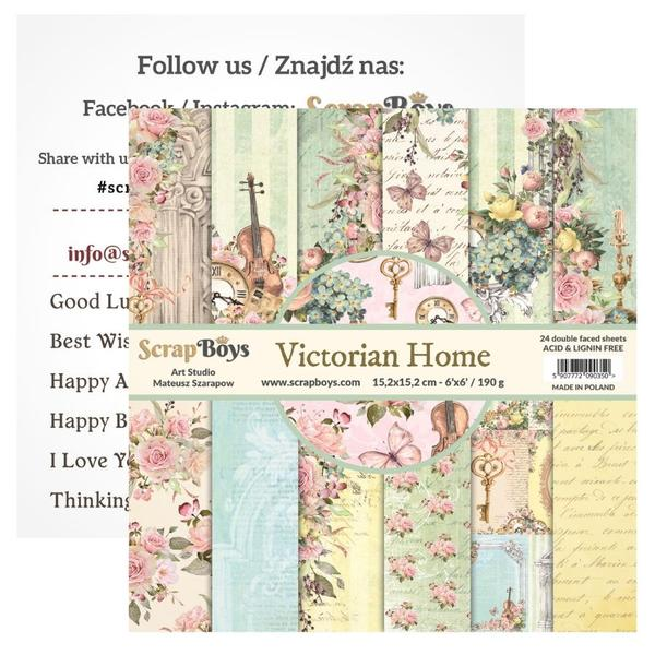 SCRAPBOYS - Victorian Home Paper Pack
