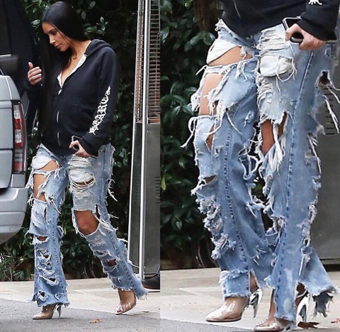 Kim K. Custom Denim
