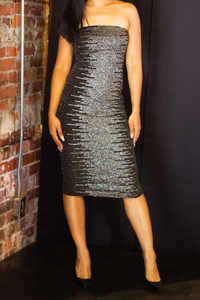 A Shimmer Frenzy Dress