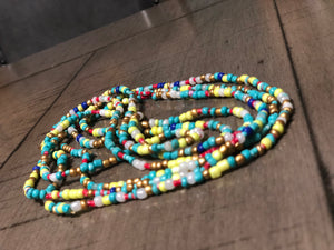 Summer in Africa Waistbeads