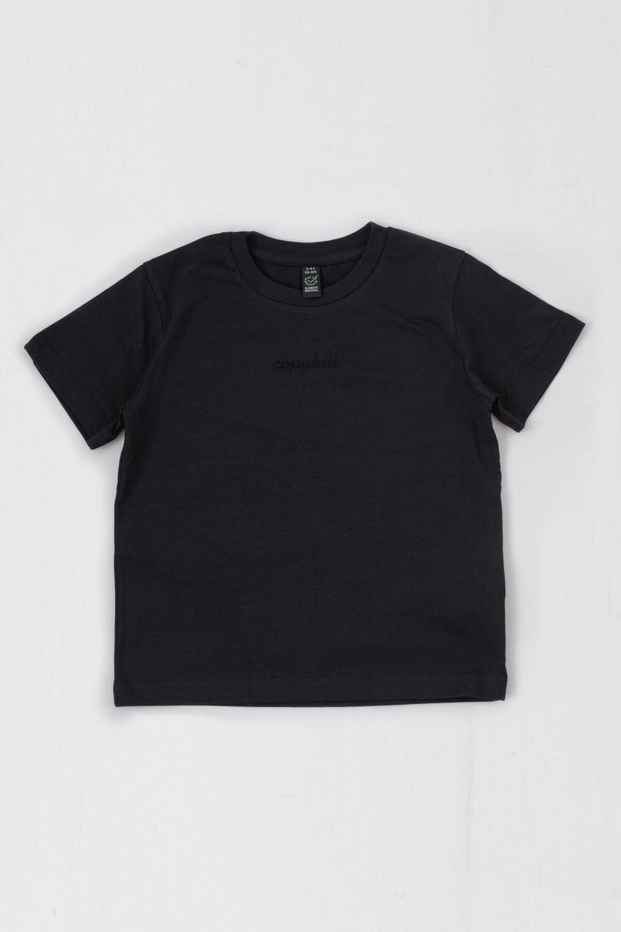 COPYKÄT Junior classic jersey t-shirt 3-4 YRS - Black