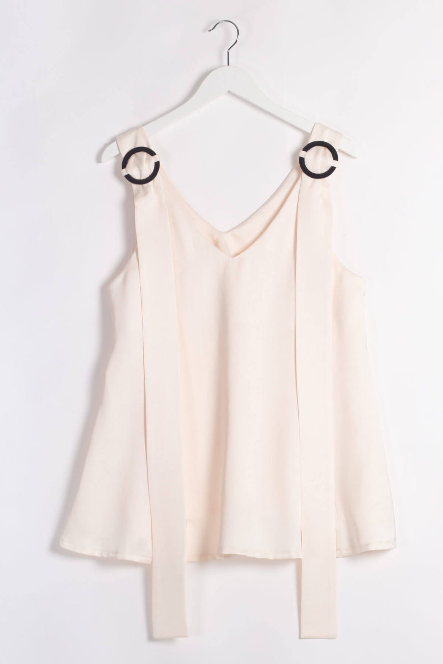 SOFYC Viscose Sleeveless Top - Ivory