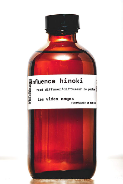 Influence Hinoki Reed Diffuser 220 ml - Les Vides Anges homecare collection