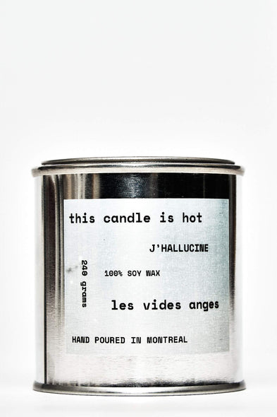 J'Hallucine Soy Candle - Les Vides Anges homecare collection