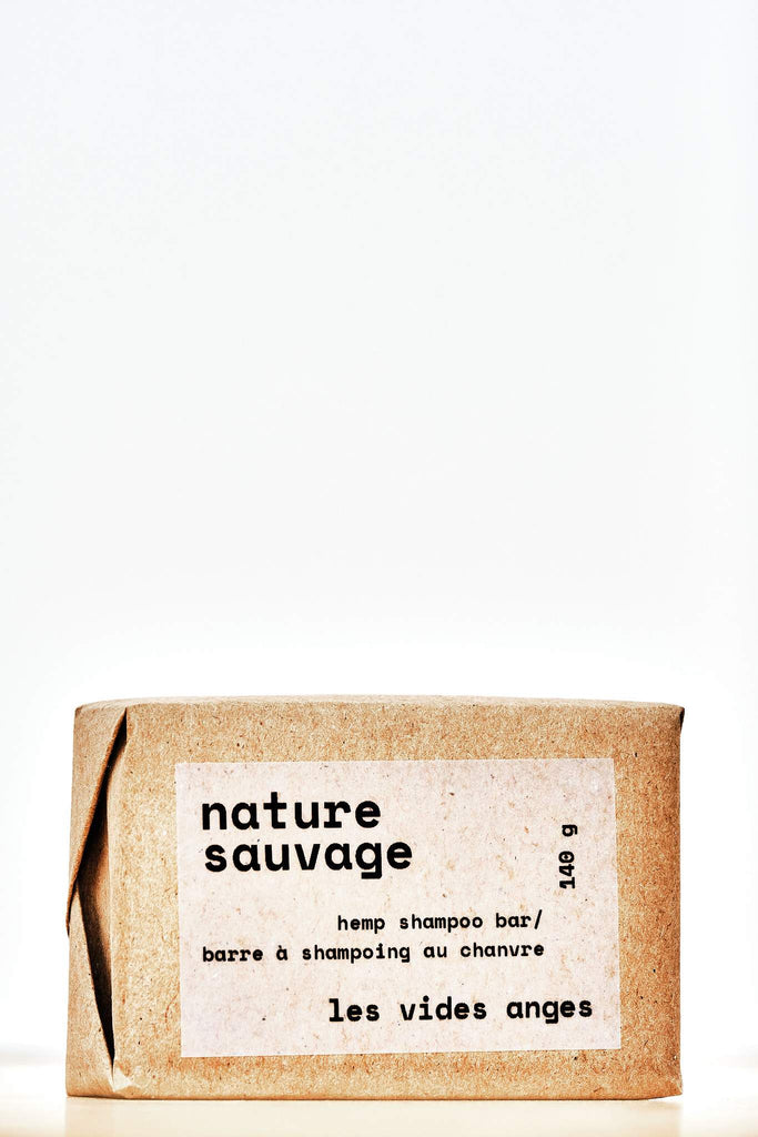 Nature Sauvage Hemp Hair Shampoo Bar - Les Vides Anges bodycare collection