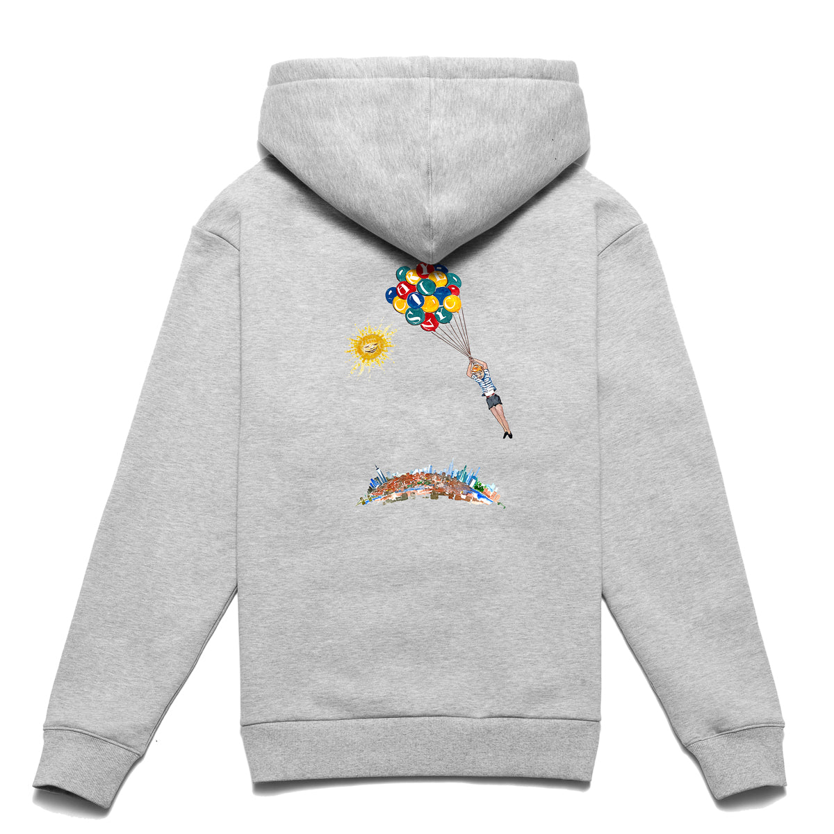 Load image into Gallery viewer, NYC Balloon boy hoodie_Ash grey