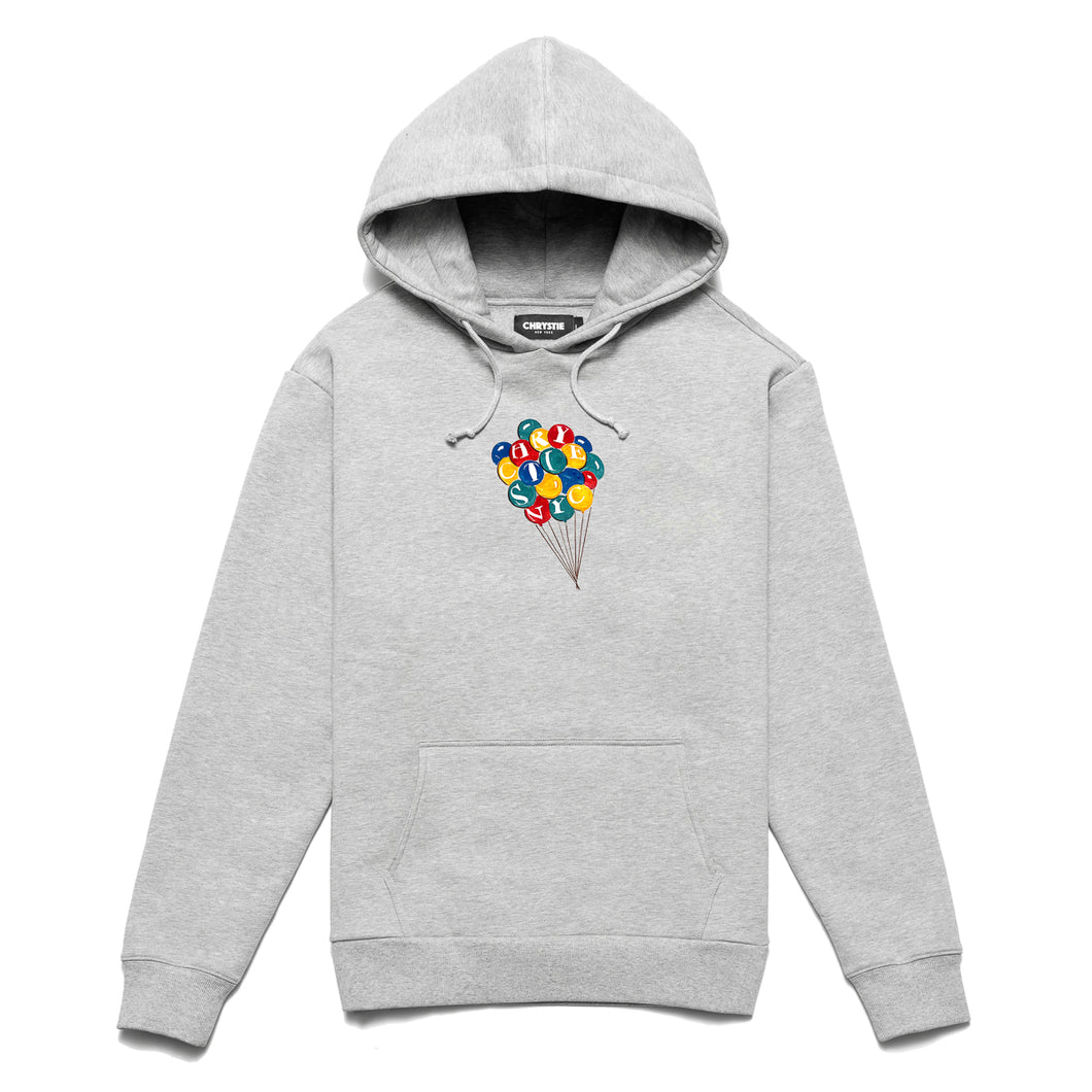 NYC Balloon boy hoodie_Ash grey