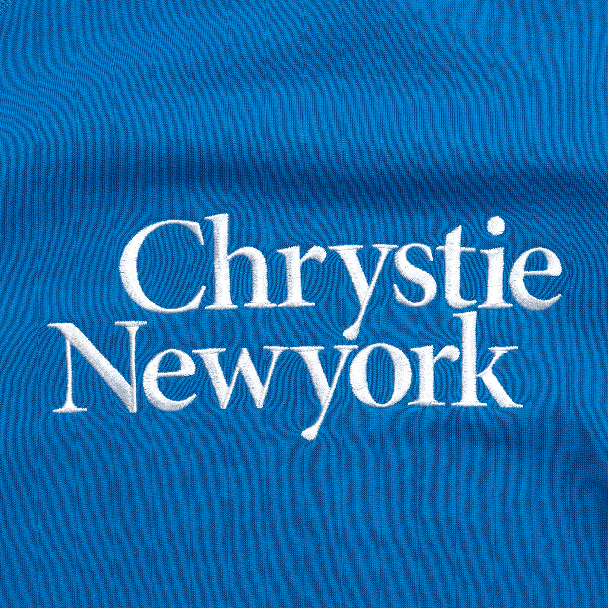 Load image into Gallery viewer, Chrystie Big Classic Logo Hoodies_Royal Blue