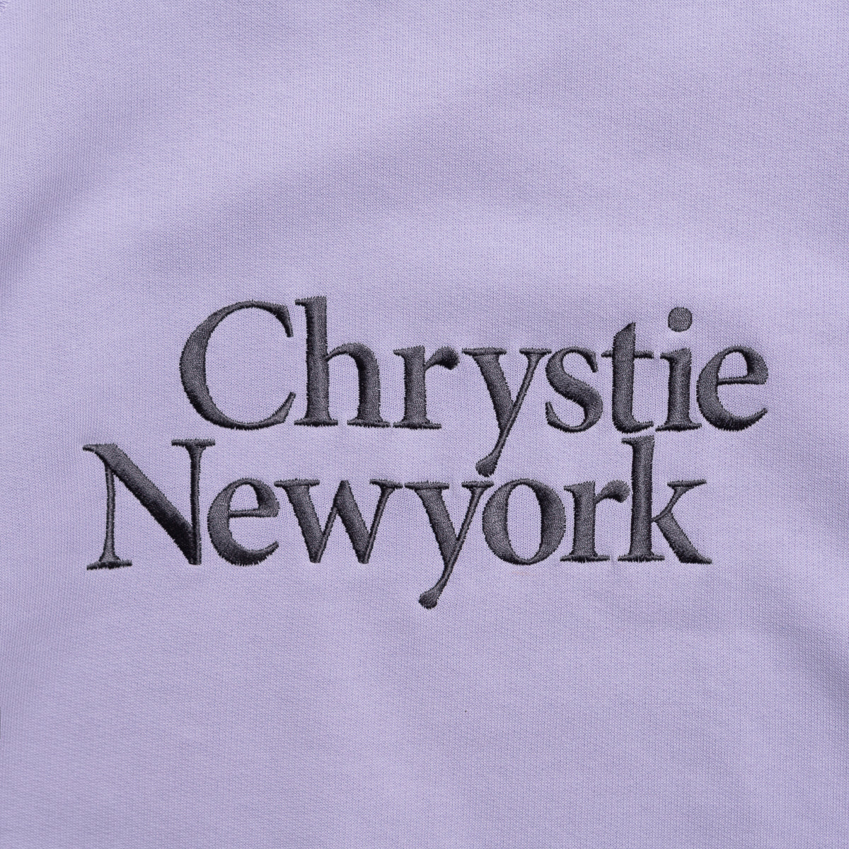 Load image into Gallery viewer, Chrystie Big Classic Logo Crewnecks_Lavender