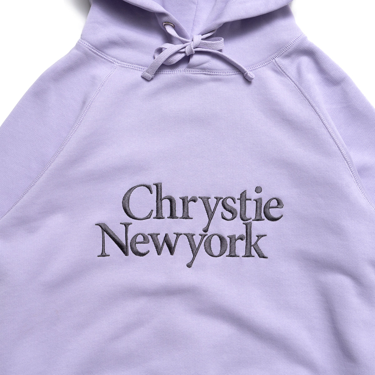 Load image into Gallery viewer, Chrystie Big Classic Logo Hoodies_Lavender
