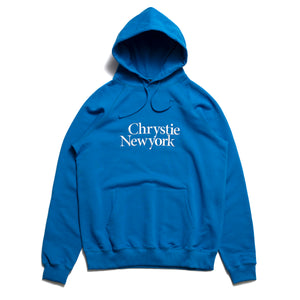 Chrystie Big Classic Logo Hoodies_Royal Blue