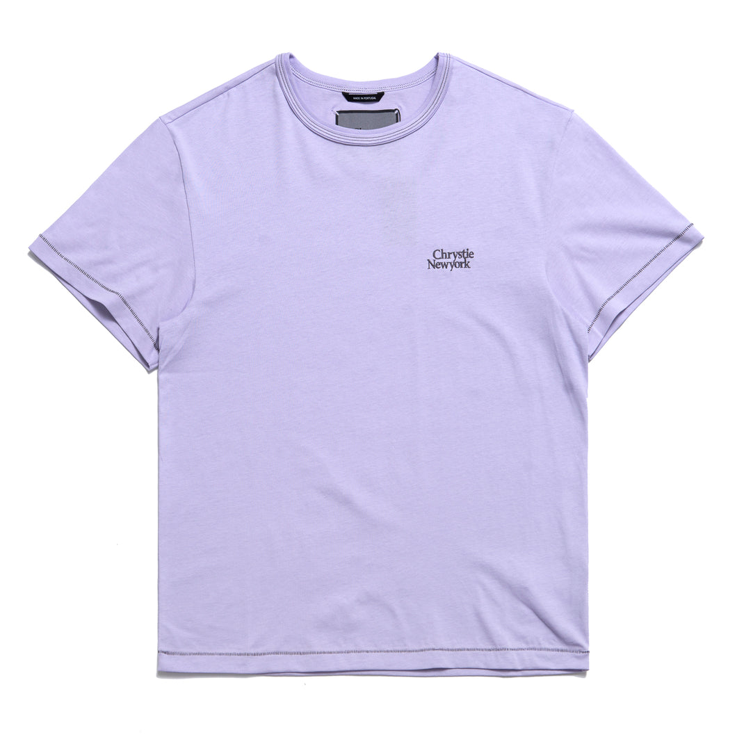 Chrystie Small Classic Logo T-Shirts_Lavender