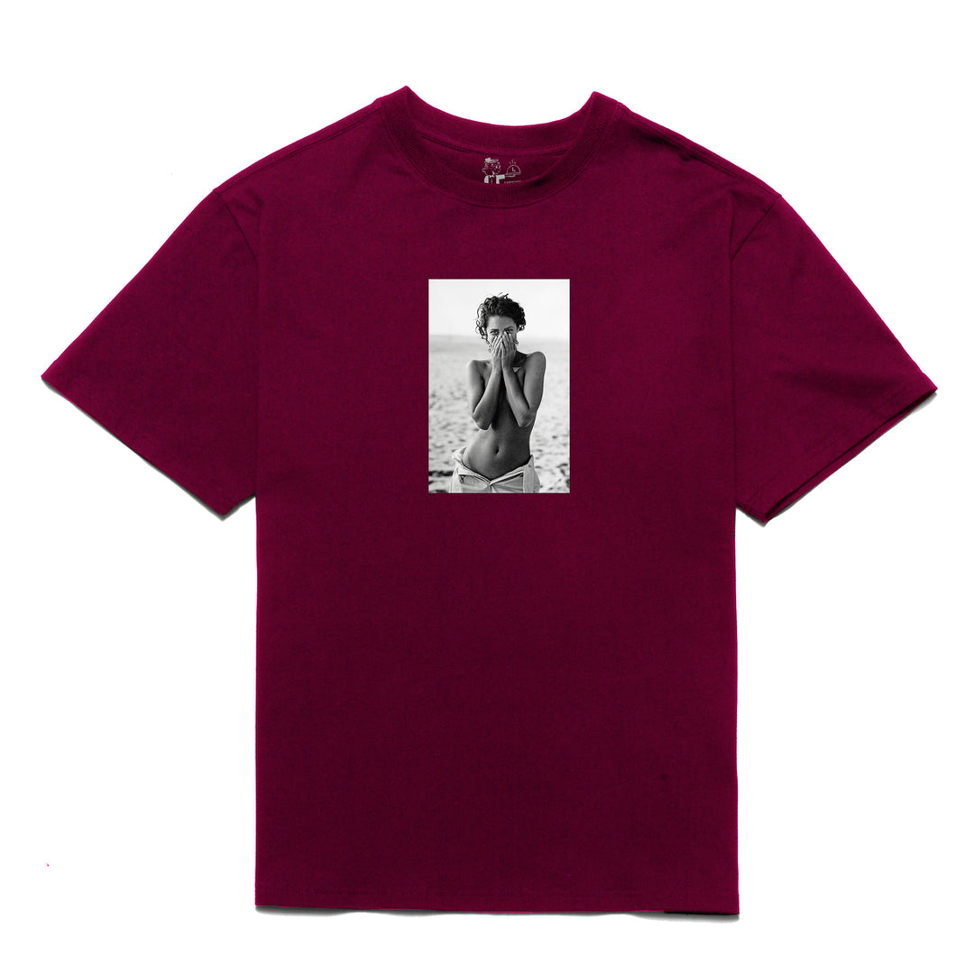 Turlington T-shirt_Maroon