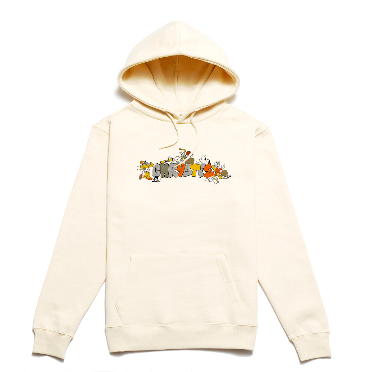 Load image into Gallery viewer, NYC Worker hoodie_Bone